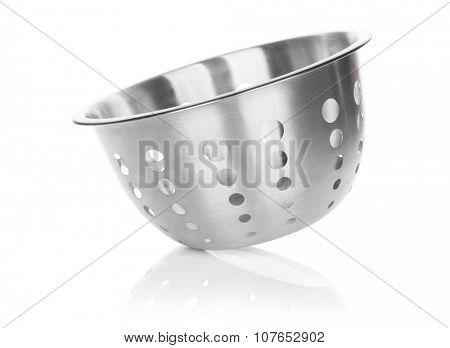 Colander. Isolated on white background