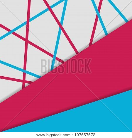 Material design background. Geometrical template