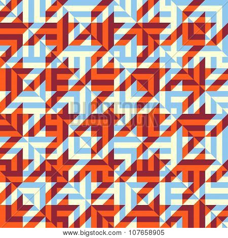 Hounds-tooth background pattern.