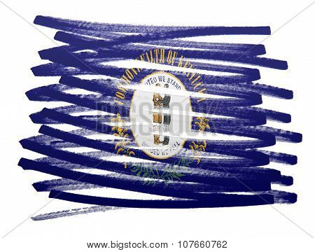 Flag Illustration - Kentucky