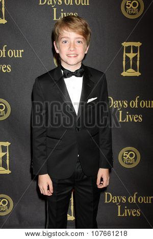 LOS ANGELES - NOV 7:  Connor Kalopsis at the Days of Our Lives 50th Anniversary Party at the Hollywood Palladium on November 7, 2015 in Los Angeles, CA