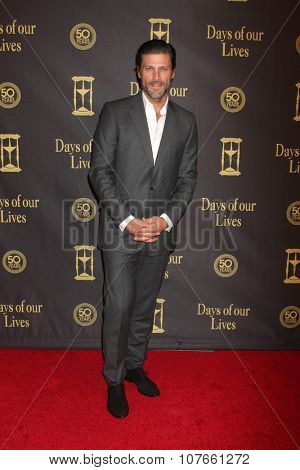 LOS ANGELES - NOV 7:  Greg Vaughan at the Days of Our Lives 50th Anniversary Party at the Hollywood Palladium on November 7, 2015 in Los Angeles, CA