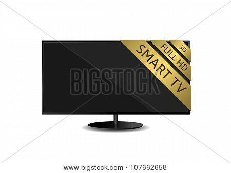 TV set illustration