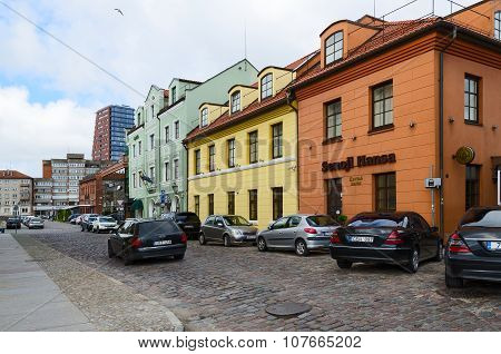 Klaipeda Street Of The Old Town