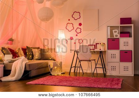 Stylish Interior For Princess Girl