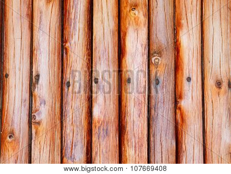 wooden wall on country home