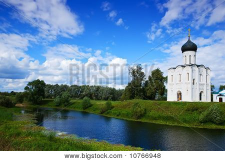 Church Of  Intercession On River Nerl