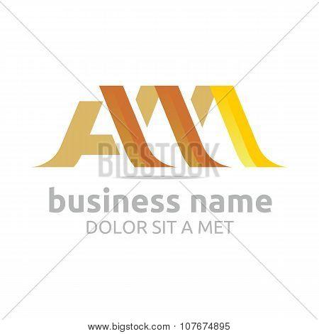 Logo Lettering AM