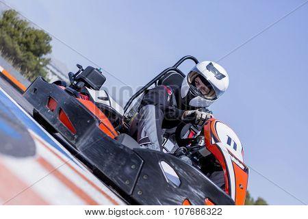 Gokart Pilot Racing