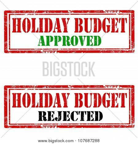 Holiday Budget-stamps