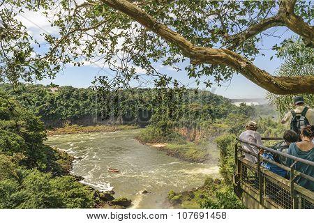 Iguazu Park Landscape Aerial View