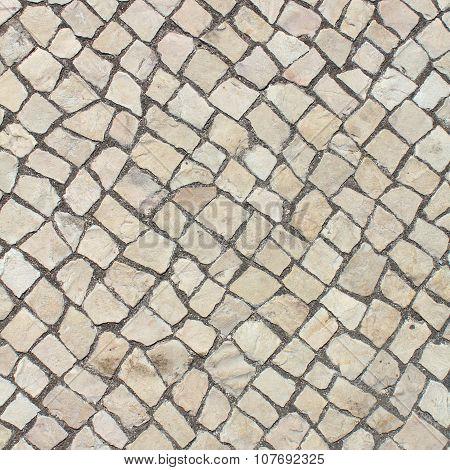Limestone pavement Background