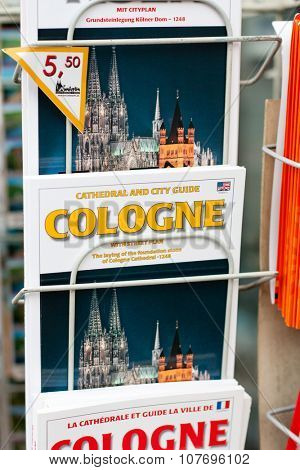 COLOGNE, GERMANY - NOVEMBER 2015: City of cologne travel guide
