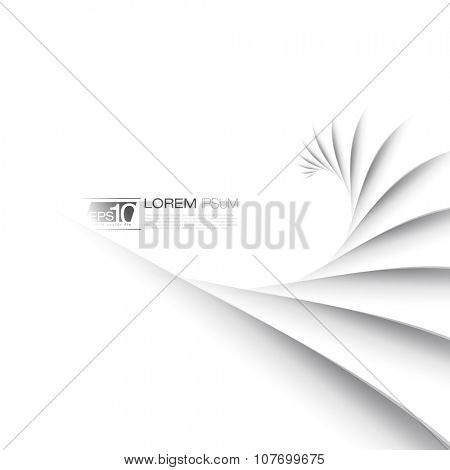 Abstract Lines Business Background | Vector Design