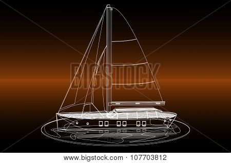 stroke sailboat