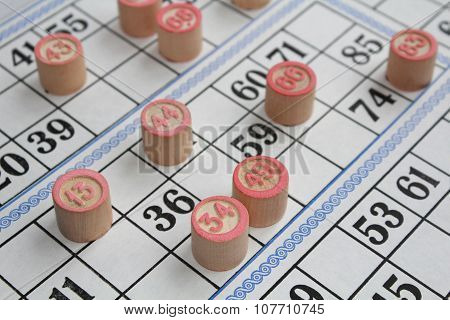Board Game Of Bingo