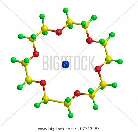 Molecular Structure Of Crown Ether