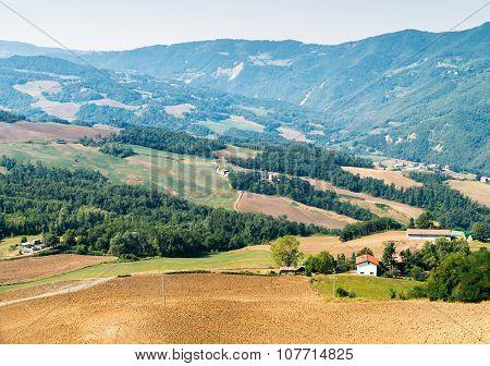 Tuscany summer landscape, Italy.