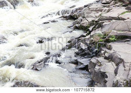 Photography of beautiful waterfall on rocks