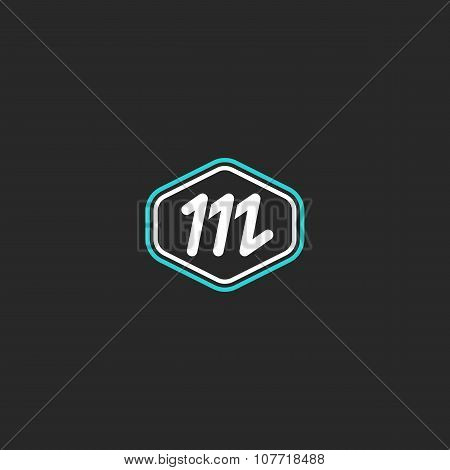 M Logo Letter Monogram, Mockup Design Element Thin Line Badge, Lower Case Graphic Shape For Business