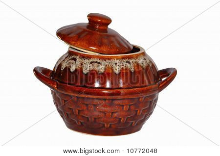 Clay Rural Pot For Cooking