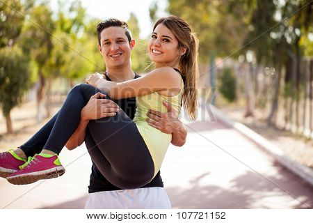 Exercising With My Boyfriend