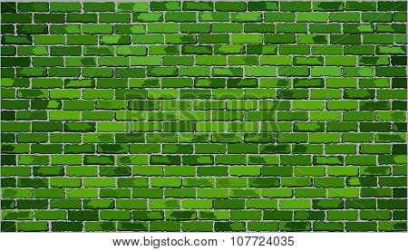 Green Brick Wall.eps