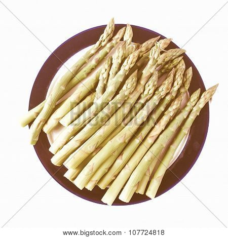 Retro Looking Asparagus