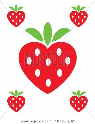 Vector Strawberry Icons