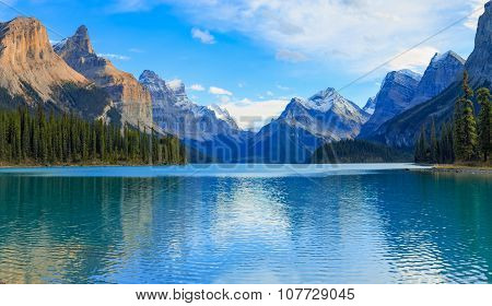 Maligne Lake view