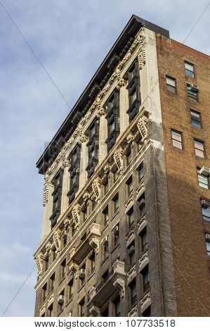 Old Building At Fifth Avenue In New York City
