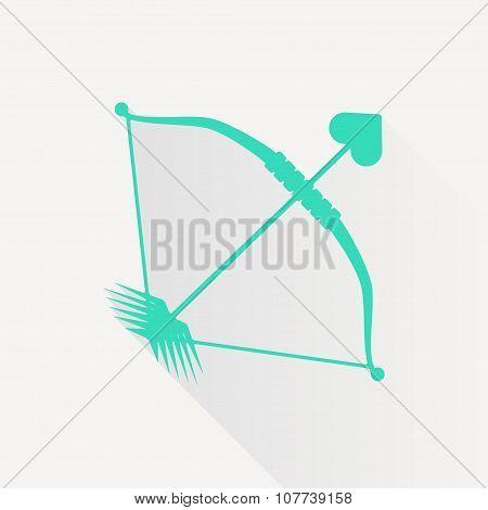 Vector amour arrow icon