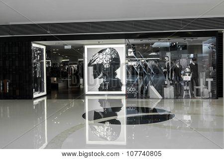 I.t Asian Brand Fashion Boutique Display Window. Hong Kong