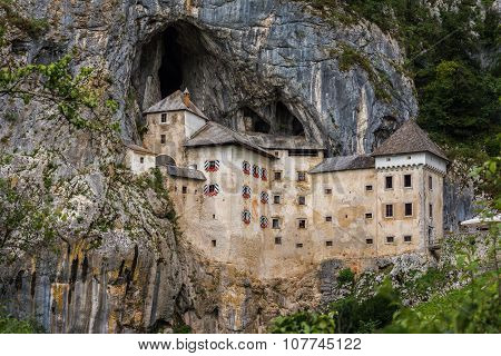 Renaissance Castle In The Rock, Predjama, Slovenia