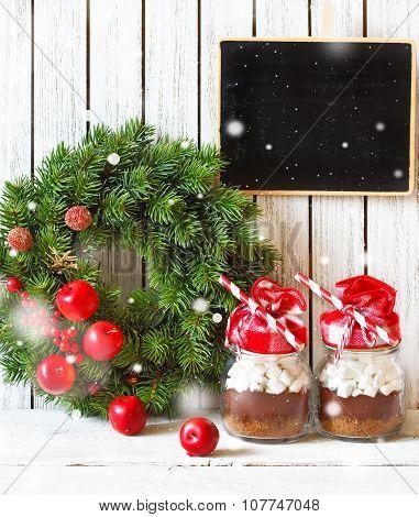 Christmas chocolate mix.