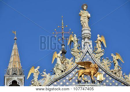 Saint Mark Basilica Spires