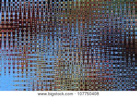 Creative Abstract Bluish Texture