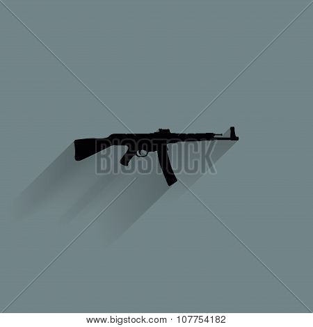 Weapon Silhouette Icon