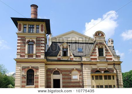 The Baroque Style Theater Built In 1892 In Cracow