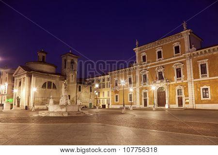 Old Architecture Of Brescia
