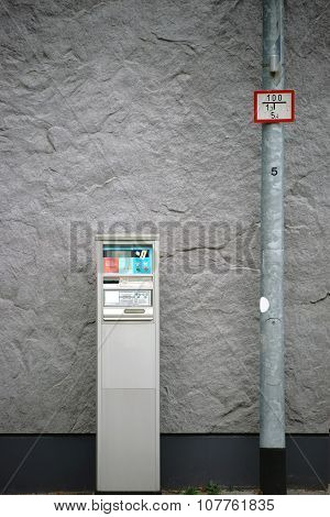 Old Ticket Machine