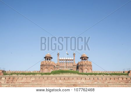 Red Fort On Day