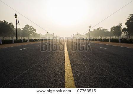 Morning Of Rajpath