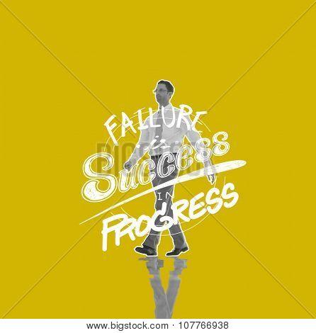 Failure Success Progress Business Investment Concept
