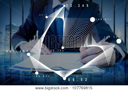 Mathematics Analysis Statistics Networking Geometry Concept