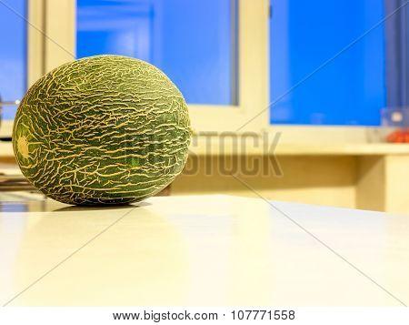 The natur vegetable Melon object.