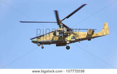 Russian Helicopter Ka-52 (alligator)