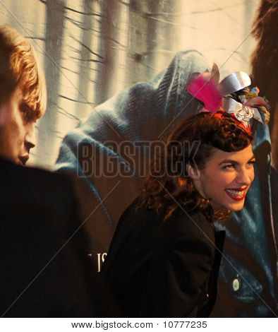 Natalia Tena At The Harry Potter And The Deathly Hallows Premiere In Central London 11 November 2010