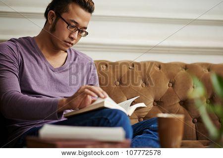 Reading novel