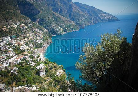 Stock Photo - Positano Amalfi Coast Italy